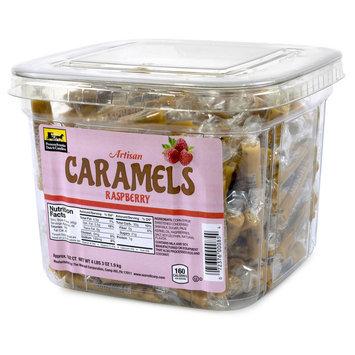 Caramels Raspberry Tub 192 Count