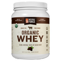 Natural Force - Organic Whey Cacao Bean - 14.8 oz.