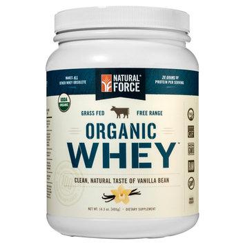 Natural Force - Organic Whey Vanilla Bean - 1.06 lb.