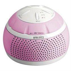Homedics Ss-mn101pk Soundspa[r] Mini Portable Sound Machine [pink]