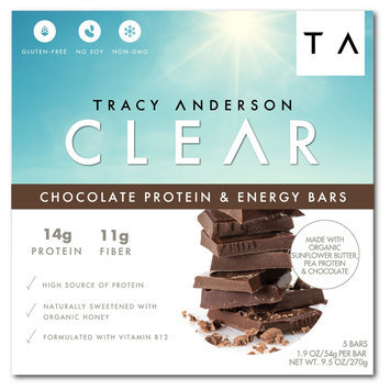 Tracy Anderson Method Tracy Anderson Clear Chocolate Protein & Energy Bars - 5 Count