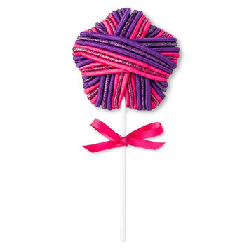 Hudson Moon Lollipop Pony Ties - Pink/Purple, Girl's, Red