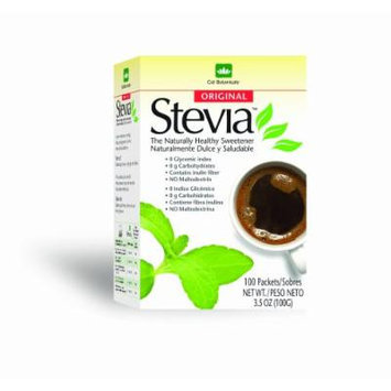 Cid Botanicals Stevia Sweetener, Original, 100 Packets