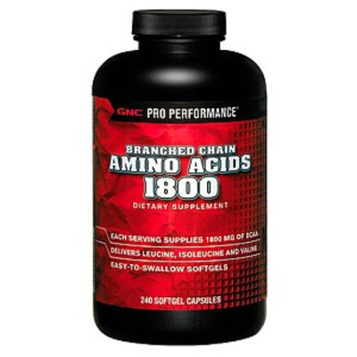 GNC Pro Performance Branched Chain Amino Acids 1800