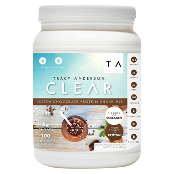 Tracy Anderson Method Tracy Anderson Clear Dutch Chocolate Protein Shake Mix - 15.3 oz