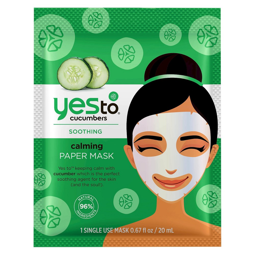 Yes to Cucumbers Soothing Calming Sheet Mask