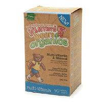 Yummi Bears Organics Multivitamin for Children Dietary Supplement Gummies