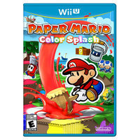 Paper Mario: Color Splash (Nintendo Wii U)