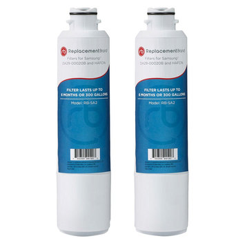 Samsung Comparable Refrigerator Water Filter 2 Pack - DA29-00020B, White