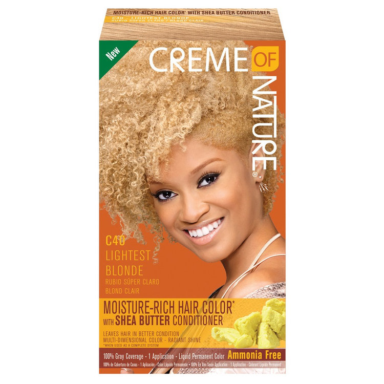 Creme Of Nature Moisture Rich Hair Color C40 Lightest Blonde Reviews