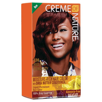 Creme of Nature Moisture Rich Hair Color C30 Red Hot Burgundy