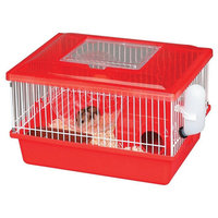 Iris Small Animal Habitat Cage - Red