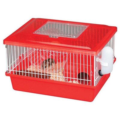 Iris Small Animal Habitat Cage - Red