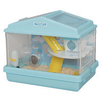 Iris 2-Level Deluxe Small Animal Habitat Cage - Blue