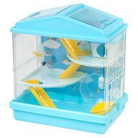 Iris Multi-Level Small Animal Habitat Cage - Blue