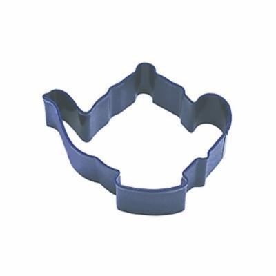 Dress My Cupcake Teapot Cookie Cutter, 3.75-Inch, Navy Blue