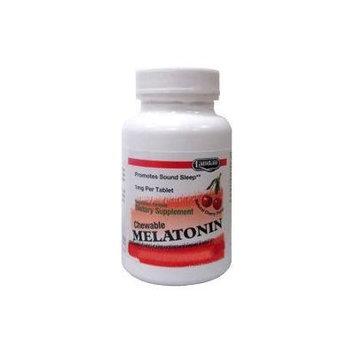 Landau Melatonin 1 Mg Chewable Cherry Flavor - 250 Tablets