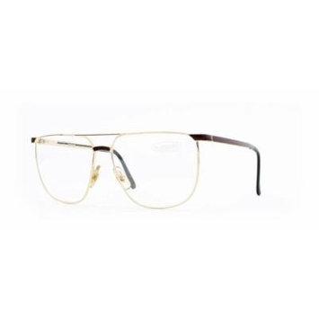 Missoni 407 731 Gold and Red Authentic Men - Women Vintage Eyeglasses Frame