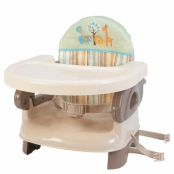 Summer Infant Deluxe Comfort Folding Booster Seat, Safari Stripe, 1 ea