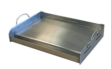 Griddle-q Little Griddle Professional Series Full-Size Stainless Steel Griddle with Removable Handles