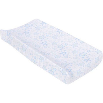 Miracle Industries MiracleWare Blue Stars Muslin Changing Pad Cover