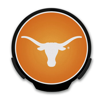 Power Decal 4 in. NCAA Team Automatic Activated LED Window Light University of Texas Longhorns Logo Sign 156688