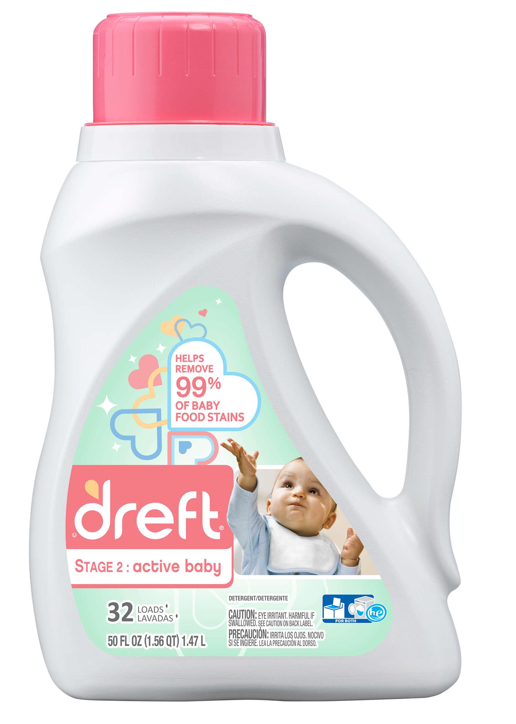 Dreft Stage 2: Active Baby Liquid Detergent