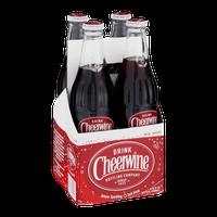 Cheerwine Unique Sparkling Soft Drink - 4 CT