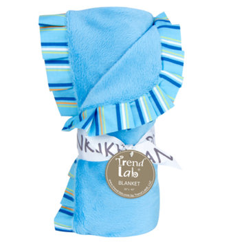 Test Trend Lab Levi Ruffle Trimmed Receiving Blanket Kid's