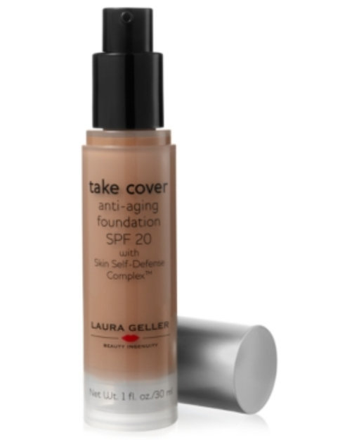 Laura Geller Beauty Take Cover Anti-Aging Foundation Broad Spectrum SPF 20 with Skin Self-Defense Complex