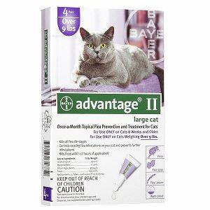 Advantage II Flea Prevention for Large Cats