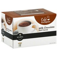 Keurig Cafe Escapes Milk Chocolate Hot Cocoa