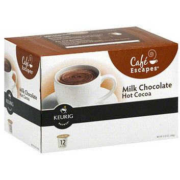 Keurig Cafe Escapes Milk Chocolate Hot Cocoa