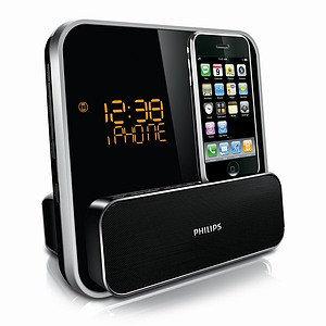 Philips LED iPhone/iPod Docking Station Clock Radio (DC315/37)