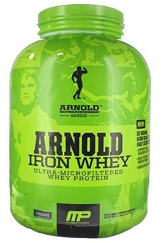 Arnold Iron MusclePharm Arnold Schwarzenegger Iron Whey 100% Whey Protein Chocolate Dietary Supplement, 1.5 lbs