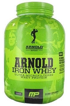 Arnold Iron MusclePharm Arnold Schwarzenegger Iron Whey 100% Whey Protein Chocolate Dietary Supplement, 1.5 lbs
