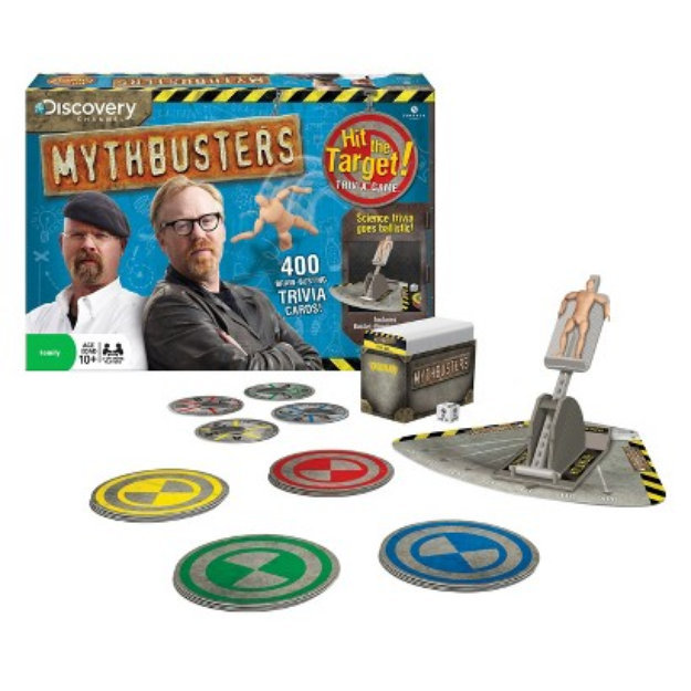 The Wonder Forge Wonder Forge Mythbusters Hit the Target! Trivia Game