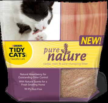 Purina 174 Tidy Cats 174 Fall Frolic Clumping Cat Litter 20 Lb