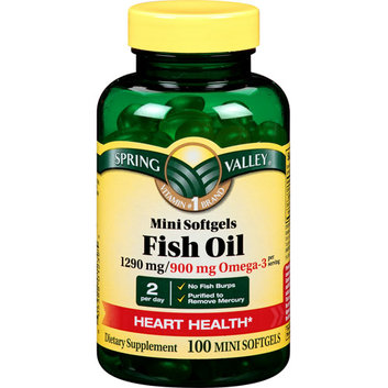 Spring Valley Enteric Coated Fish Oil 1290mg