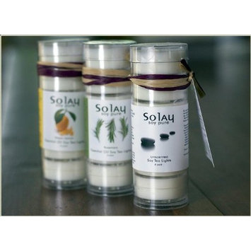 Solay Wellness, Inc. Solay Bugaway Natural Mosquito Repellent with Himalayan Salt