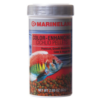 Marineland MARINELANDA Cichlid Color Enhancing Pellets Fish Food