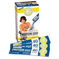 DESIGNER WHEY The Biggest Loser Protein 2GO Pak, Blue Blueberry, 8-Count Carton