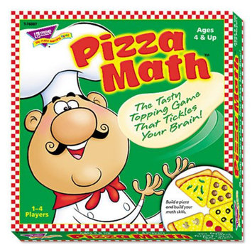 Trend TREND Pizza Math Game, Ages 4 and Up
