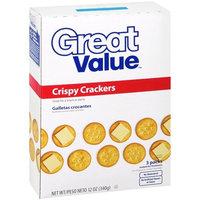 Great Value Crispy Crackers, 12 Oz
