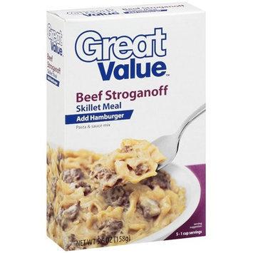 Great Value: Beef Stroganoff Skillet Meal, 5.60 oz