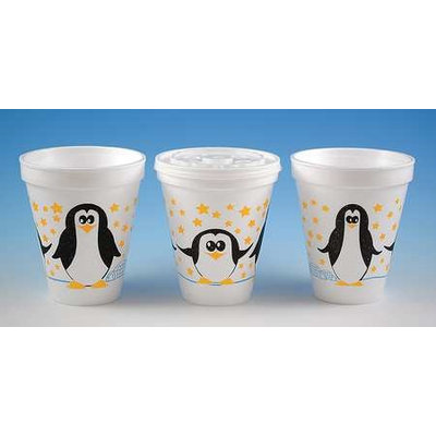 WINCUP 214247 Disp. Cold/Hot Cup,12 oz, White, PK500
