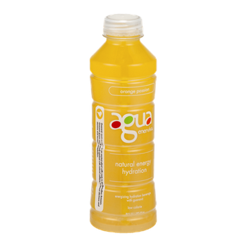 Agua Enerviva Energizing Hydration Beverage Kiwi Strawberry