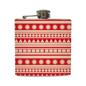 Indie - Liquid Courage Flasks - 6 oz. Stainless Steel Flask