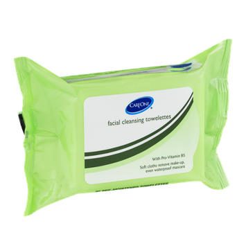 CareOne Facial Cleansing Towelettes - 25 CT