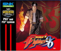 SNK Playmore USA THE KING OF FIGHTERS '96 PSP DLC